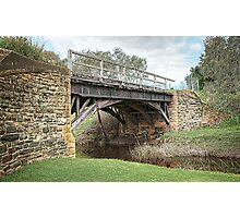 Currency Creek Bridge Photographic Print