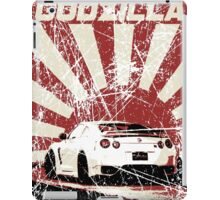 Japan Godzilla - GTR iPad Case/Skin