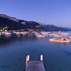 Late evening on Annecy lake by Patrick Morand