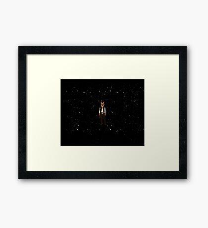 Han Solo Star Wars Dog Framed Print