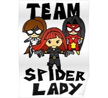 Team Spider Lady Poster