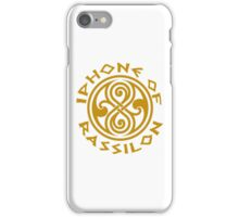 Iphone of Rassilon iPhone Case/Skin