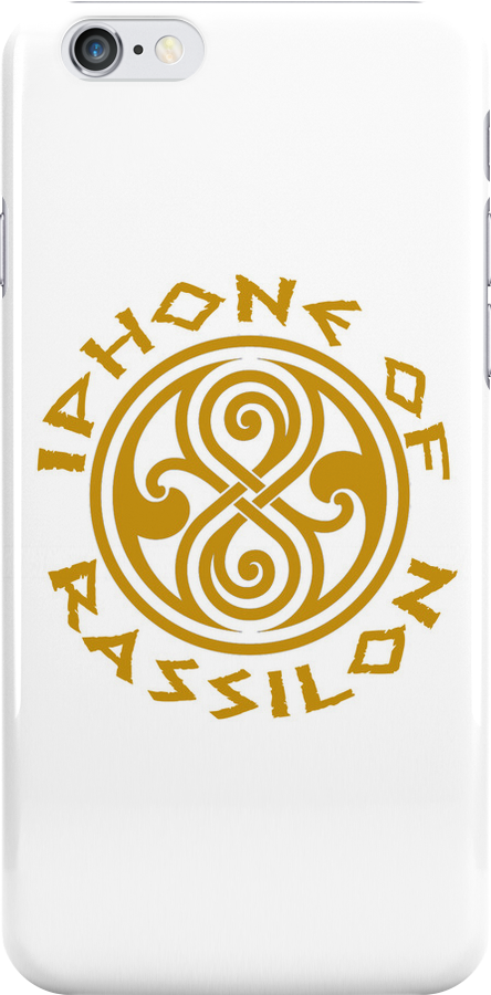 Iphone of Rassilon by jammywho21