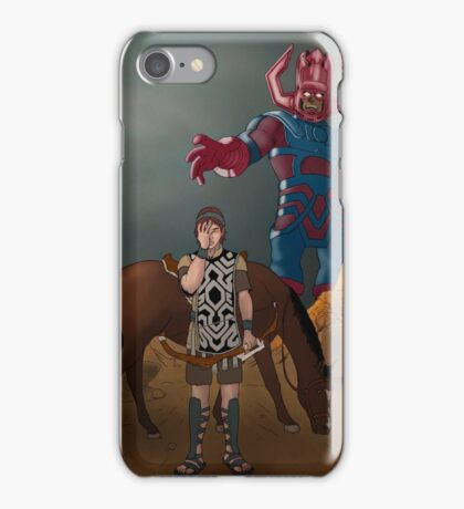 Shadow of the... Galactus?? iPhone Case/Skin