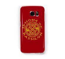 Iphone of Rassilon -red Samsung Galaxy Case/Skin