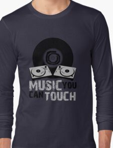 Music You Can Touch Long Sleeve T-Shirt