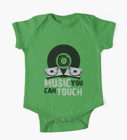 Music You Can Touch One Piece - Short Sleeve