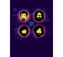 The Big Beards Theory Photographic Print