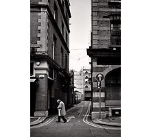 Journey for the morning paper - Dublin Photographic Print