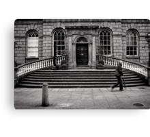 Symmetry Undone - Dublin Canvas Print