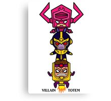 The Villain Totem Canvas Print