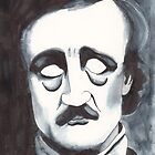 Edgar Allen Poe by Dinah Stubbs