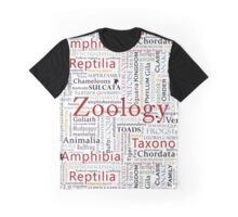 Herpetology in Typography Graphic T-Shirt