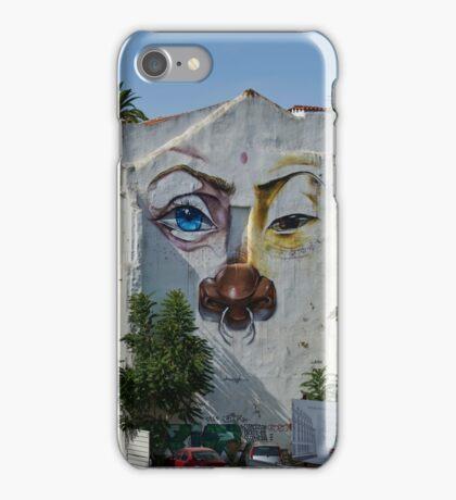 Lisbon faces iPhone Case/Skin