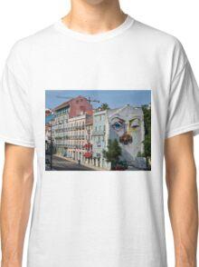 Lisbon faces Classic T-Shirt