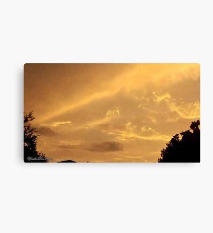 July 2012 Sunset 4 Canvas Print