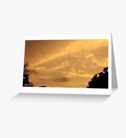 July 2012 Sunset 4 Greeting Card