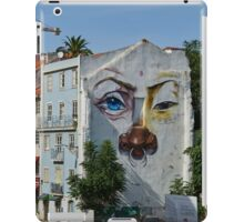 Lisbon faces iPad Case/Skin
