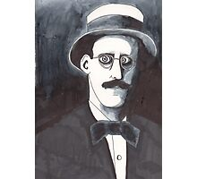 James Joyce Photographic Print