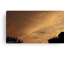 July 2012 Sunset 6 Canvas Print