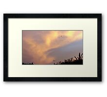 July 2012 Sunset 8 Framed Print