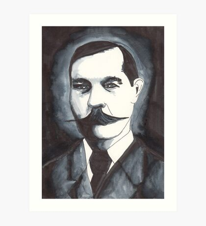 Arthur Conan Doyle Art Print