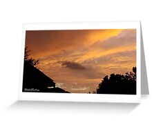 July 2012 Sunset 12 Greeting Card