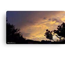 July 2012 Sunset 13 Canvas Print