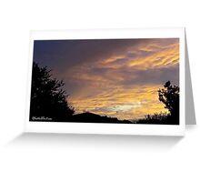 July 2012 Sunset 14 Greeting Card