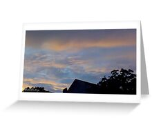 July 2012 Sunset 15 Greeting Card