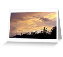 July 2012 Sunset 16 Greeting Card