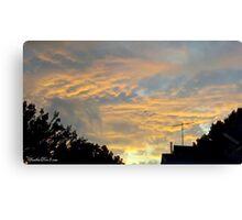 July 2012 Sunset 18 Canvas Print