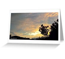 July 2012 Sunset 19 Greeting Card