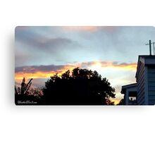July 2012 Sunset 20 Canvas Print