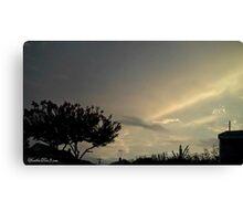 July 2012 Sunset 23 Canvas Print