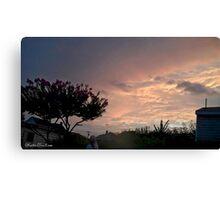 July 2012 Sunset 24 Canvas Print