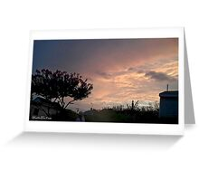 July 2012 Sunset 24 Greeting Card