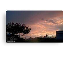 July 2012 Sunset 25 Canvas Print