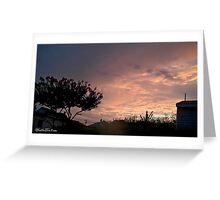 July 2012 Sunset 25 Greeting Card