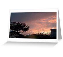 July 2012 Sunset 26 Greeting Card