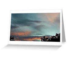 July 2012 Sunset 28 Greeting Card