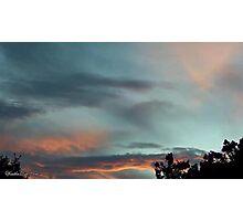July 2012 Sunset 28 Photographic Print