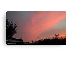 July 2012 Sunset 30 Canvas Print