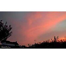 July 2012 Sunset 30 Photographic Print