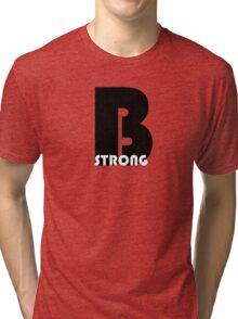 cool t-shirt - Be strong Tri-blend T-Shirt