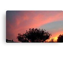 July 2012 Sunset 32 Canvas Print