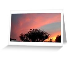 July 2012 Sunset 32 Greeting Card