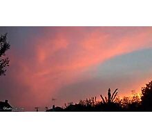 July 2012 Sunset 33 Photographic Print