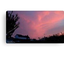July 2012 Sunset 34 Canvas Print