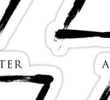 Elements Symbols - Black Edition Sticker